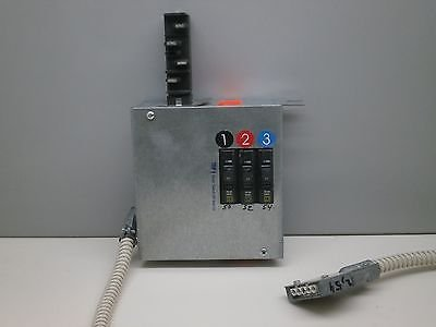 StarLine Busway Tap Box OB60-15-4TL-1-FUSE 15A 300V Disconnect Used