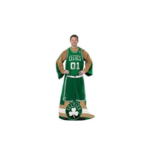 The Northwest Company Officially Licensed NBA Boston Celtics Full Body Player Adult Comfy Throw Blanket, 48