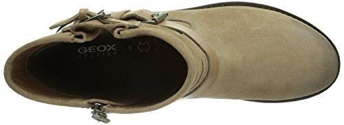 Geox D New Virna, Boots femme Beige (Taupec6029)