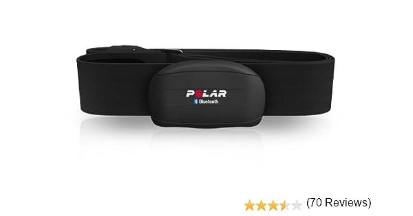 Polar WearLink+ Bluetooth Android/Symbian Compatible Sensor transmisor de frecuencia cardíaca, Unisex, Negro, M-XXL