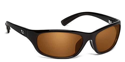 ONOS Carabelle Polarized Sunglasses (+2 Add Power), Black, Amber -