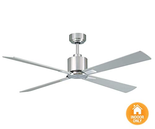 Lucci Air 210520010 Climate 3 Blade Indoor DC Motor Ceiling Fan with Remote Control, 52