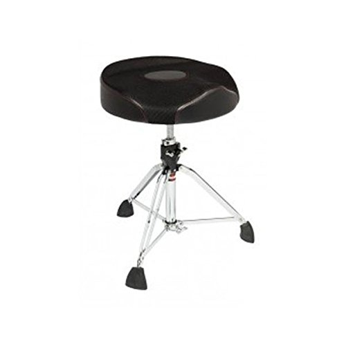 Gibraltar 9608RW2T Oversized Round Seat Web Top Drum Throne