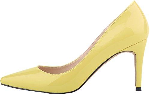 Sandales 5 Femme Compensées Jaune Jaune Nice 36 Find TAUzqw