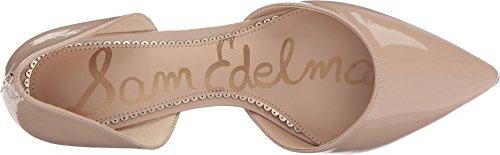 Sam Edelman Dames Telsa Dorsay Pump Nude Linen Lakleder