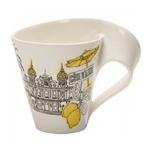 Villeroy & Boch Cities of the World Coffee Mug Côte d'Azur, 300 ml, Premium Porcelain, -