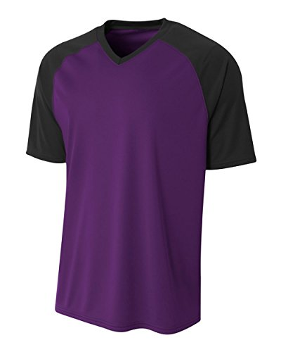 Purple/Black Adult XL Color Combo All Season Comfort Sports Jersey ()