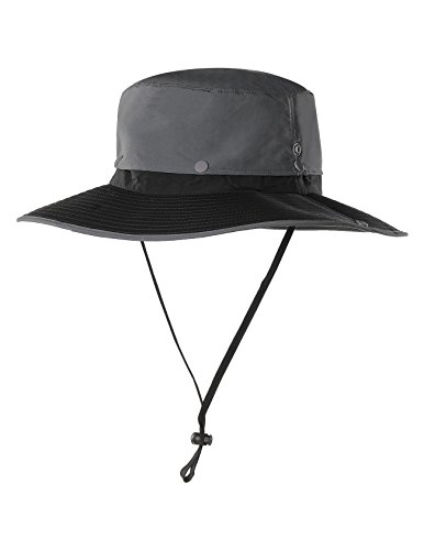 Waterproof Outdoor Wide Brim Sun Hat by Feeker, Fishing Hunting Hiking Sun Boonie Hat for Men & Women
