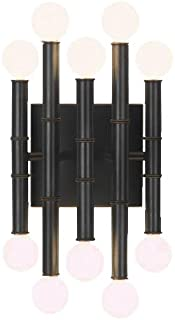 product image for Robert Abbey Z686 Sconces with Shades, Deep Patina Bronze Finish