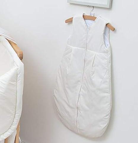 Saco de dormir para recién nacido de 6 a 18 meses, 86 cm, manga corta, color crema: Amazon.es: Bebé