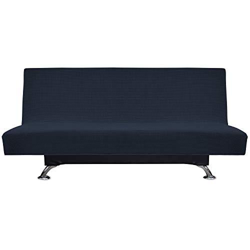 Easy-Going Stretch Spandex Armless Sofa Slipcover,Futon Sofa