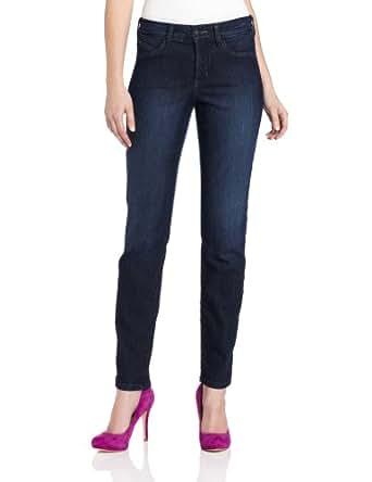 NYDJ Women's Marilyn Straight Jeans, Torrance Wash, 0