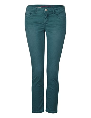 Green Verde One Jeans teal Soft Donna Wash Street 11374 Slim UqHOnwSS4