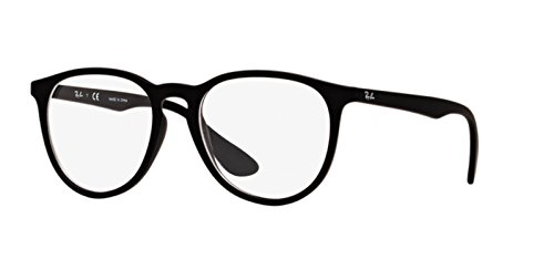 Ray-Ban Eyeglasses RX7046 5364 Rubber Black 53 18 - Ban Ray Prescription