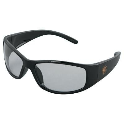 (Smith & Wesson Elite Safety Eyewear, Blue Mirror Polycarbonate Anti-Scratch Lenses, Black Frame)