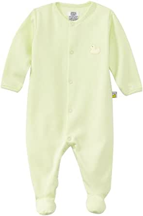 Noa Lily Unisex-Baby Newborn Footie with Duck, Mint Green, 6 Months