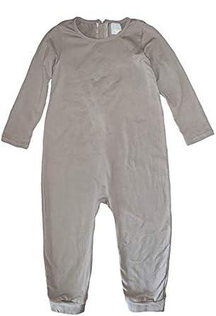 Buy Naked No More Back Zip Open Foot Long Sleeve Pajamas