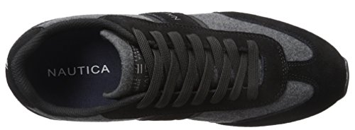 Nautica Men's Boyle Fashion Sneaker Black Suede for cheap cheap online atWwo9obqx