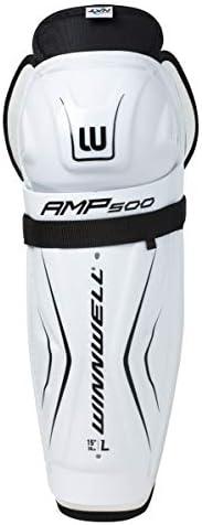 Winnwell AMP500 Hockey Shin Guards