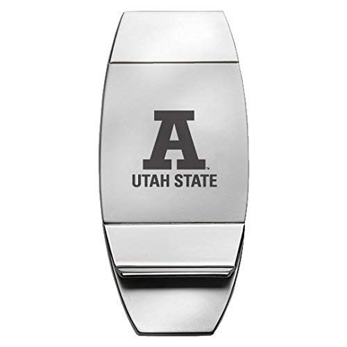 Utah State University - Two-Toned Money Clip - Silver ()