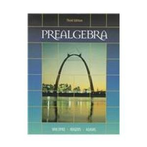 Thomson Advantage Books: Prealgebra
