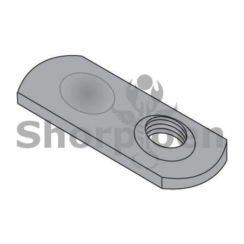 Weld Nut Thin Target Area Plain Steel 5//16-18 BC-31NWS1T Weight 20 Lbs Box of 1000