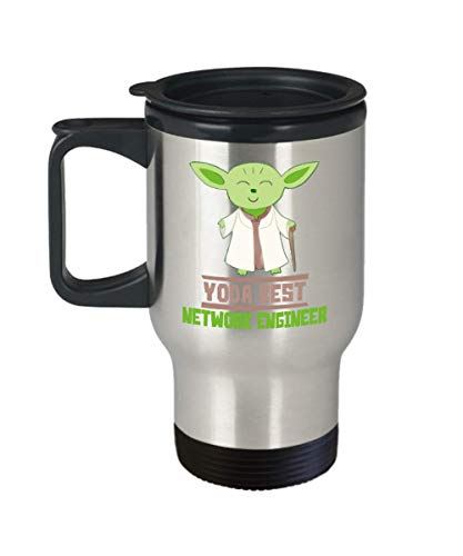 Gift For Network Engineers - Yoda Best Network Engineer T-Shirt - Star Wars Funny Shirt -