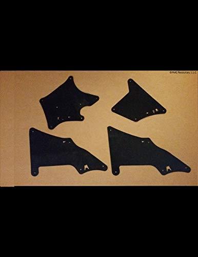 Amazon com: Set of 4 Splash Shields with Clips for W/KDSS