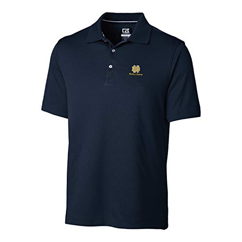 Cutter & Buck NCAA Notre Dame Fighting Irish Short Sleeve Glendale Polo, M