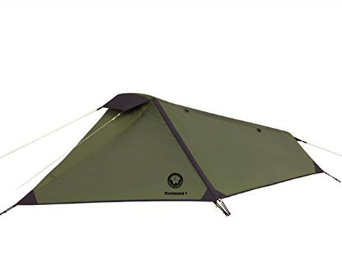 Grand Canyon Richmond 1 - Trekkingzelt ( 1-Personen-Zelt), olive/schwarz, 302008