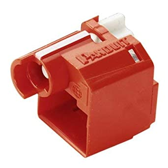 amazon panduit psl dcplx rj45 plug lock in device 10 devices Panduit RJ45 Blanks panduit psl dcplx rj45 plug lock in device 10 devices red