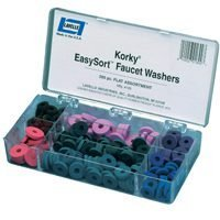 Faucet Washer Kit 200 Pcs Flat by Korky