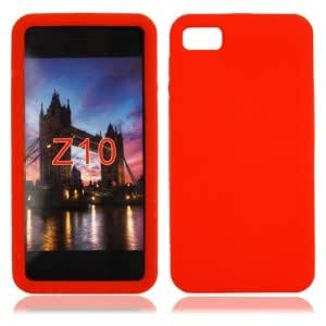 Silicone Case for Blackberry Z10 Red