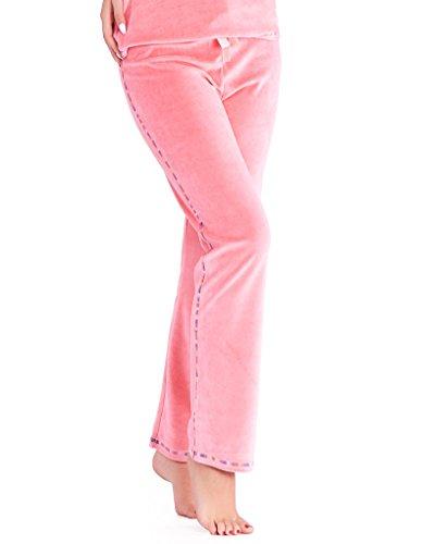 Mio Lounge Coral Velour Pyjama Set PJs ML16V2PJ