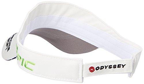 (キャロウェイ アパレル) Callaway Apparel [ メンズ] 定番 ロゴ入り サンバイザー (ツアーモデル) / 247-8990600 / 帽子 ゴルフ