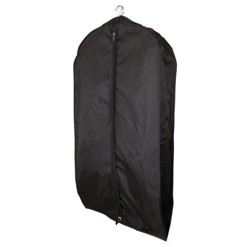Hangerworld 5 Borse porta abiti in nylon nero 112 cm- confezione risparmio