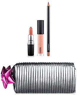 M.A.C Shiny Pretty Things Goody Bag Lip Set - NUDE Limited Edition,
