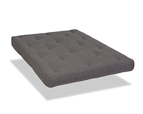 WOLF Serta Chestnut Double Sided Foam and Cotton Futon Mattress