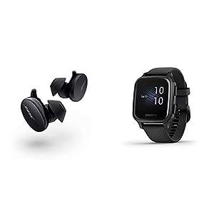 Bose Écouteurs Sport Earbuds–Écouteurs Entièrement sans Fil–Écouteurs Bluetooth pour les Entraînements et la Course, Triple Noir