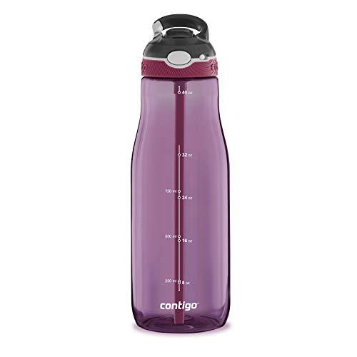 Contigo 2063289 Ashland Water Bottle 40 oz. Passion Fruit