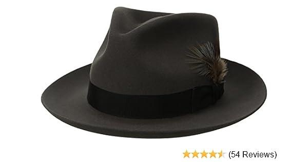 Stetson Men s Stetspm Chatham Royal Deluxefur Felt Hat at Amazon ... da66bbd0a9c