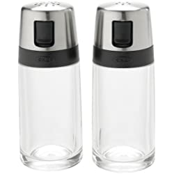 OXO Good Grips Salt and Pepper Shaker Set with Pour Spouts