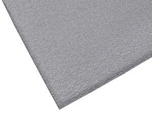 2' x 3' 3/8'' Thick Gray Soft Foot™ Pebble Anti-Fatigue Mat