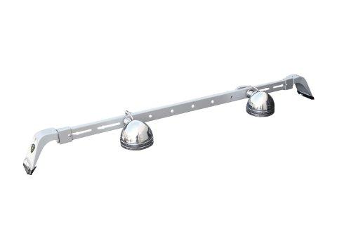 Carr's 210874 Deluxe Rota Light Bar Titanium Silver Powder Coat (Carr Deluxe Light Bars)