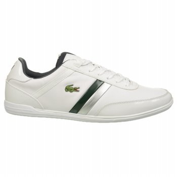 d94bd9cc3cf9e Image Unavailable. Image not available for. Color  Lacoste MEN GIRSON SSL  SPM White Green 9 SNEAKERS