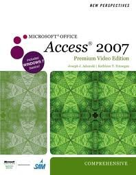 Download New Perspectives on Microsoft Office Access 2007, Comprehensive, Premium Video Edition (New Perspectives (Course Technology Paperback)) 1st (first) edition ebook