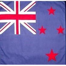fan products of New Zealand National Flag Head Wrap Dusk Mark Bandana Scarf Handkerchief, 20 inches