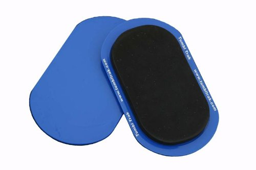 - Tumbl Trak Smooth Sliding Sliders with Comfortable Top, Pair (for Carpet Floors)
