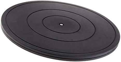 回転台 ターンテーブル 回転スタンド プラスチック 多目的 陶器粘土 テレビ モニター 直径40CM