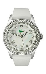 Lacoste Advantage (Lacoste Advantage White Strap Ladies Watch 2000647)
